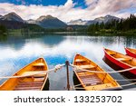 mountain lake in national park... | Shutterstock . vector #133253702