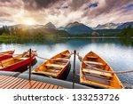mountain lake in national park... | Shutterstock . vector #133253726