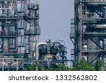 close up industrial zone. plant ... | Shutterstock . vector #1332562802