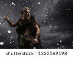 Medieval Warrior Berserk Viking ...