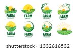 logo with the image of the... | Shutterstock .eps vector #1332616532