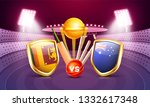 banner or poster design ... | Shutterstock .eps vector #1332617348