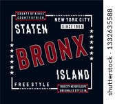 free style staten island... | Shutterstock .eps vector #1332635588