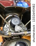 Speedometer And Fuel Tank Of A...