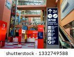 osaka  japan  january 13  2019  ... | Shutterstock . vector #1332749588