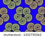 textile fashion  african print... | Shutterstock .eps vector #1332750362