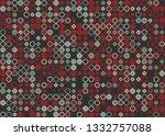 beautiful seamless geometric... | Shutterstock .eps vector #1332757088