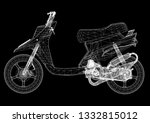 scooter design architect... | Shutterstock . vector #1332815012