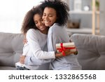 relative people sitting on... | Shutterstock . vector #1332865568