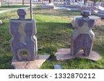 albuquerque  new mexico  usa  ... | Shutterstock . vector #1332870212