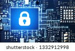 security system concept....   Shutterstock . vector #1332912998