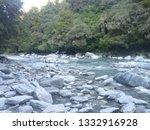 river in mt aspiring national... | Shutterstock . vector #1332916928