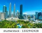 beautiful architecture building ... | Shutterstock . vector #1332942428