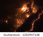 Intense Flames From A Massive...