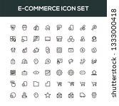 e commerce icon set | Shutterstock .eps vector #1333000418