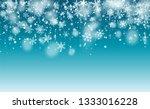 vector snow background. winter...   Shutterstock .eps vector #1333016228