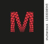 symbol letter m with appearance ...   Shutterstock .eps vector #1333038545