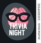 trivia night design | Shutterstock .eps vector #1333039532