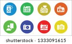 photographing icon set. 8...   Shutterstock .eps vector #1333091615