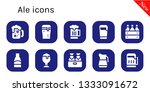 ale icon set. 10 filled ale... | Shutterstock .eps vector #1333091672