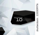 polygonal design   abstract... | Shutterstock .eps vector #133309976