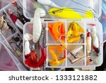 soft fishing lures and other... | Shutterstock . vector #1333121882