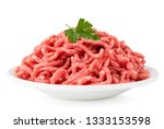 Minced Meat With Parsley Leave...