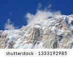 nepal  annapurna conservation... | Shutterstock . vector #1333192985