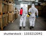 industrial pest control | Shutterstock . vector #1333212092