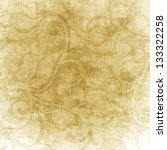 Old Shabby Golden Wallpaper