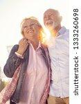 happy nice mature couple... | Shutterstock . vector #1333260698