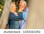 happy senior couple in love.... | Shutterstock . vector #1333261352