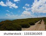 ten mile lagoon wind farm is... | Shutterstock . vector #1333281005