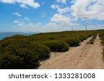 ten mile lagoon wind farm is... | Shutterstock . vector #1333281008
