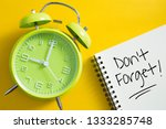 don't forget notice reminder...   Shutterstock . vector #1333285748