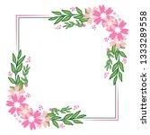 vector illustration beauty pink ... | Shutterstock .eps vector #1333289558