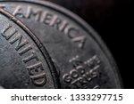 Us Coins Macro America - Fine Art prints