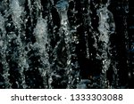 abstract water splash isolated... | Shutterstock . vector #1333303088