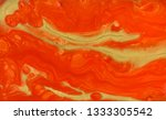 red and gold marbling pattern.... | Shutterstock . vector #1333305542