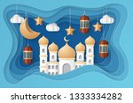 ramadan kareem background... | Shutterstock .eps vector #1333334282