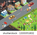 isometric artwork concept of a...   Shutterstock .eps vector #1333351832