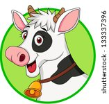adorable,agriculture,animal,bell,black,bovine,bull,cartoon,cattle,character,clip,clip-art,cow,cute,dairy