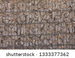 gabions as visual protection | Shutterstock . vector #1333377362