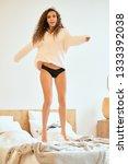 woman indoor portrait. young... | Shutterstock . vector #1333392038