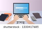 waiting for the installation to ...   Shutterstock .eps vector #1333417685