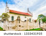 Small photo of View on Dutch reformed church in Galle Fort, Sri Lanka