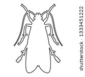 clothes moth clothing moth fly... | Shutterstock .eps vector #1333451222