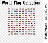 world flag collection | Shutterstock .eps vector #1333462598