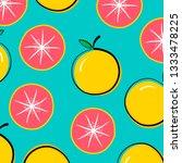 a grapefruit vector | Shutterstock .eps vector #1333478225