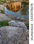 reflection of a russian wooden... | Shutterstock . vector #1333478678
